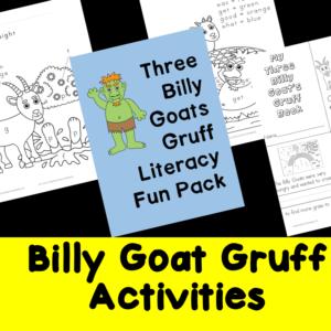 Billy Goats Gruff Activities