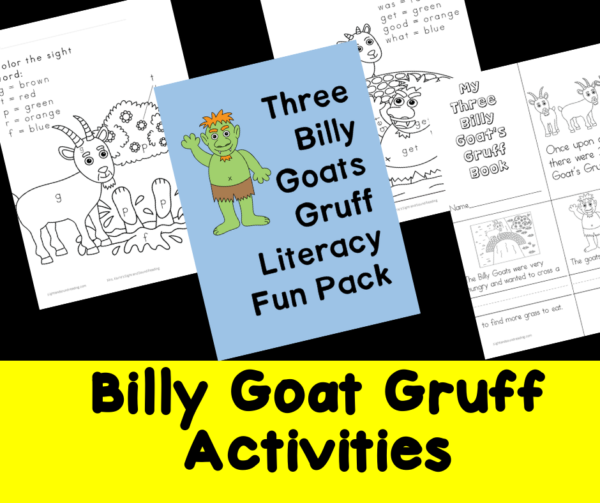 Billy Goats Gruff Activities