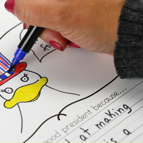 Duck for President lesson plans