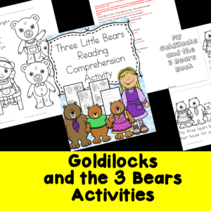 Goldilocks and 3 bears
