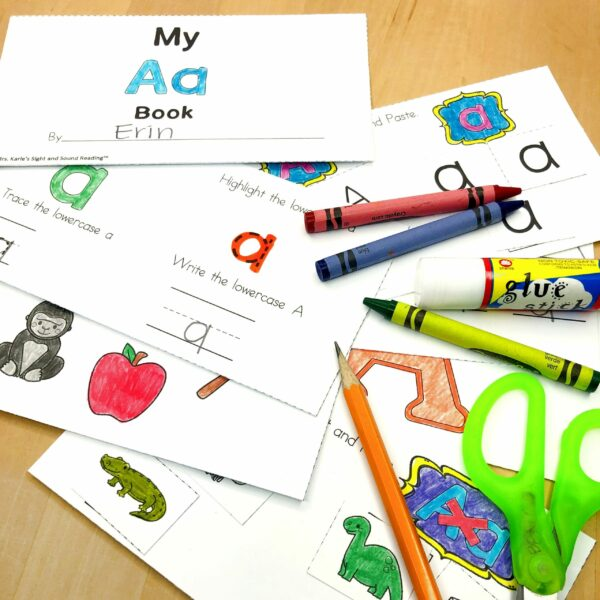 Letter A Lessons/Worksheets