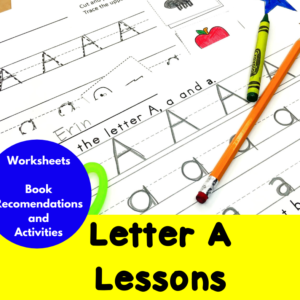 Letter A Lessons