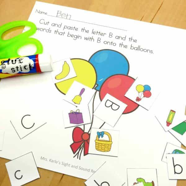 Letter B Lessons/Worksheets