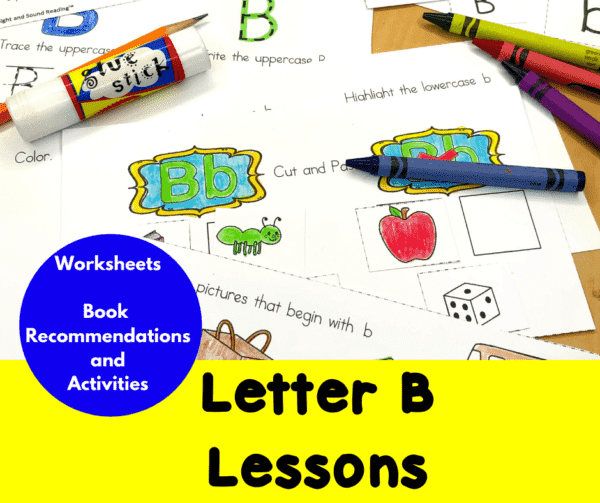 Letter B Lessons