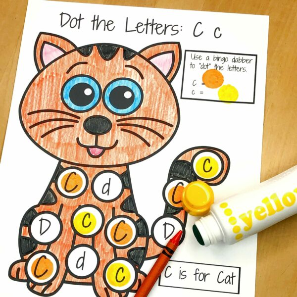 Letter C Lessons and Worksheets
