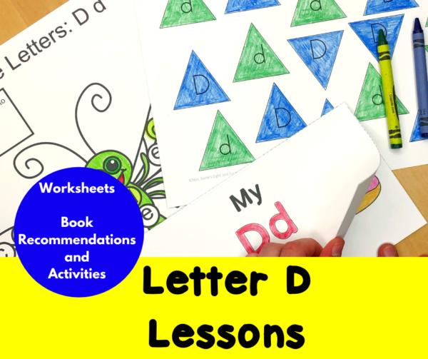 Letter D Lessons