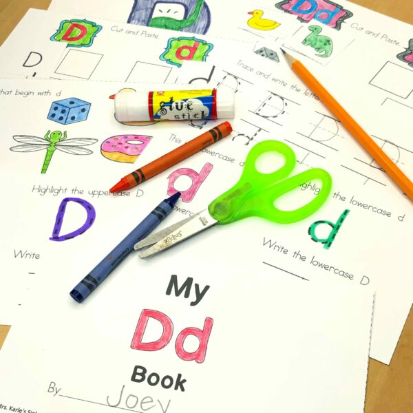 Letter D Lessons and Worksheets