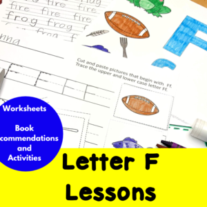 Letter F Lessons