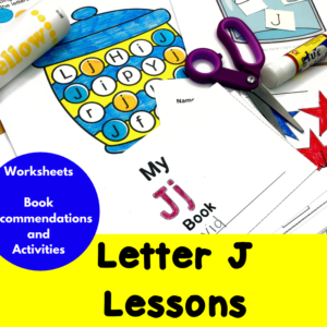 Letter J Lessons