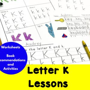 Letter K Lessons