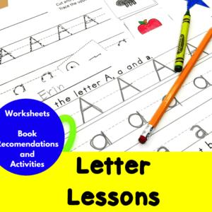 Letter Lessons for Kindergarten