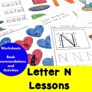 Letter N Lessons