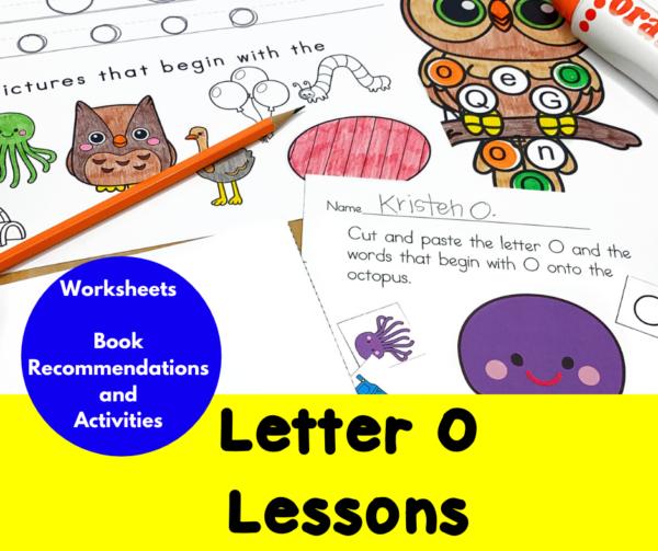 Letter O Lessons