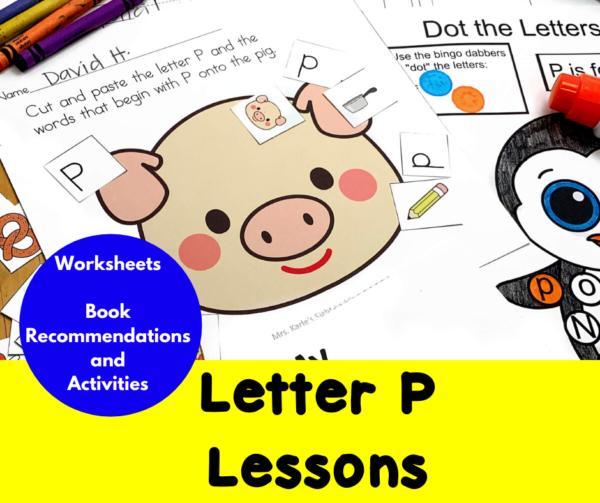 Letter P Lessons