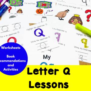 Letter Q Lessons