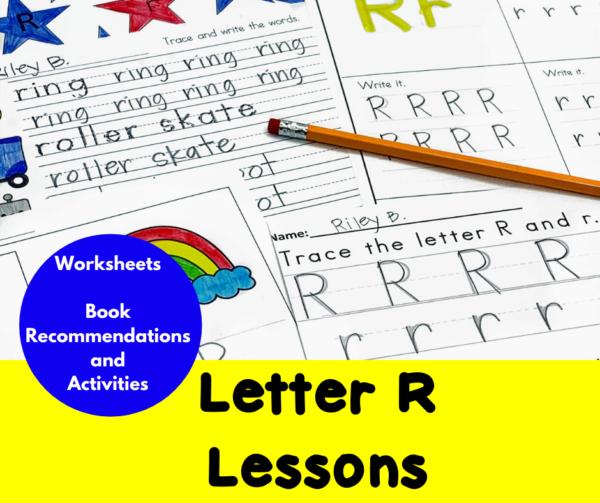 Letter R Lessons