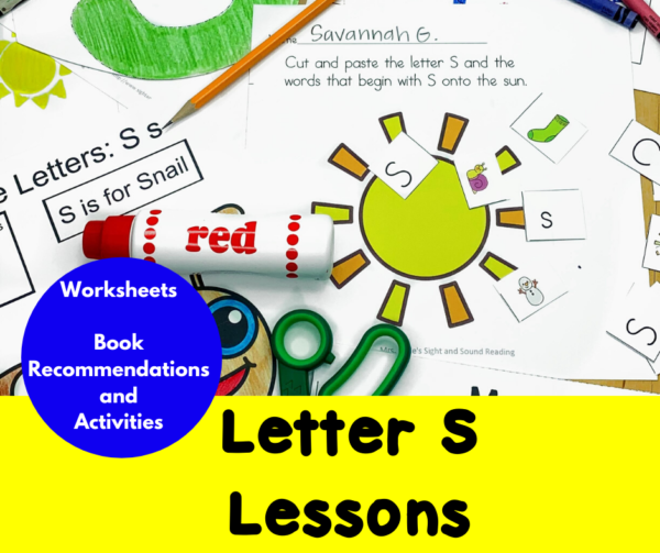 Letter S Lessons