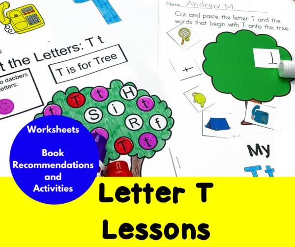 Letter T Lessons