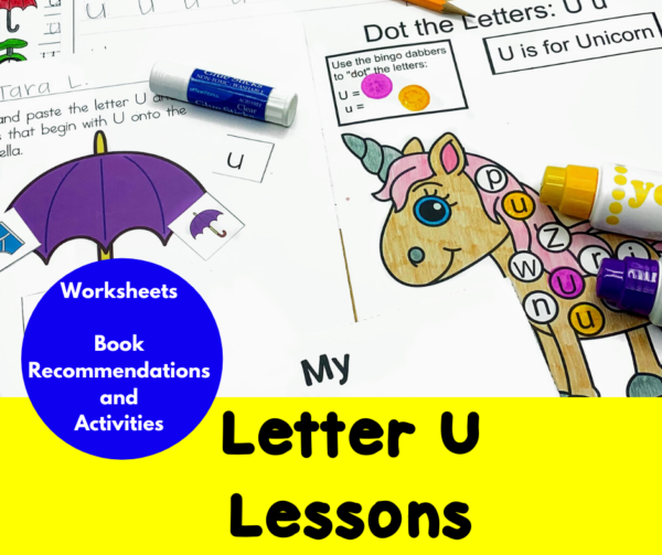 Letter U Lessons