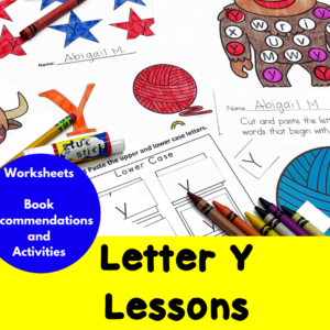 Letter Y Lessons for Kindergarten