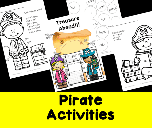 Pirate Activities for Kindergarten