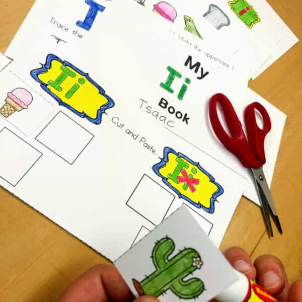 Letter I Lessons and Worksheets