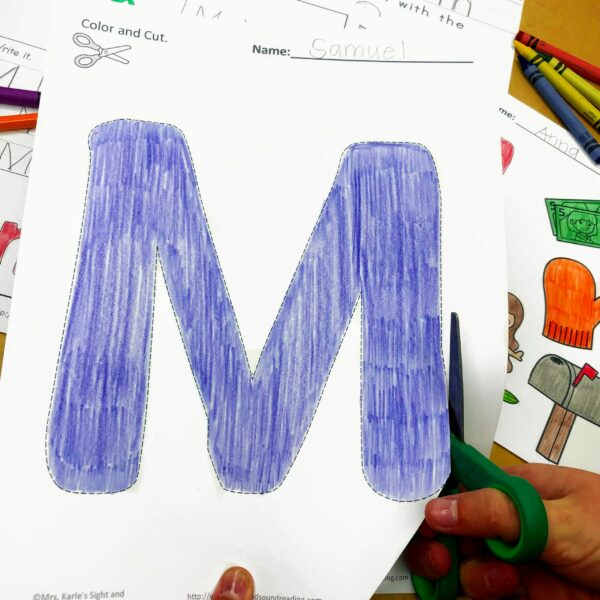 Letter M Lessons and Worksheets
