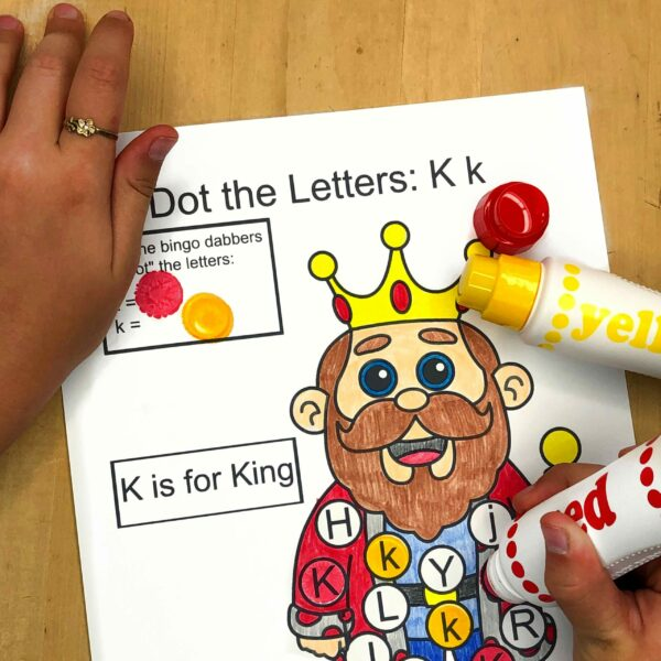 Letter K Lessons and Worksheets