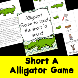 Short A Alligator Game
