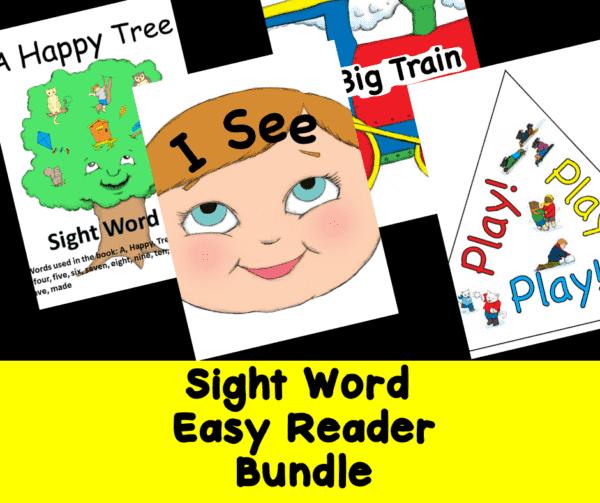 Sight Word Easy Reader Books