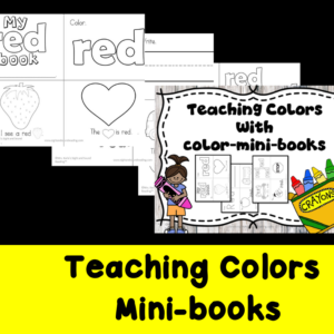 Teaching Colors - Mini book