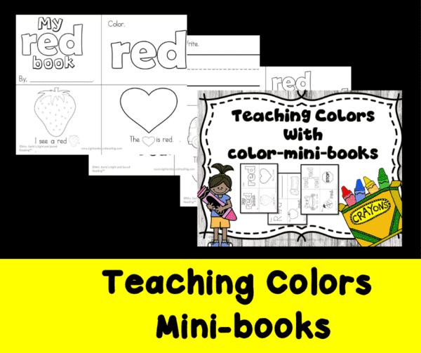 Teaching Colors - Mini book
