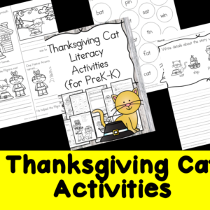 Thanksgiving Cat Activities