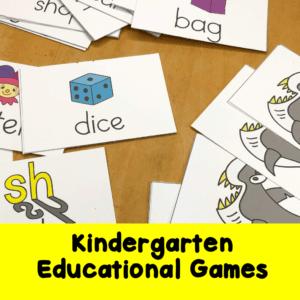 Kindergarten Educational Game