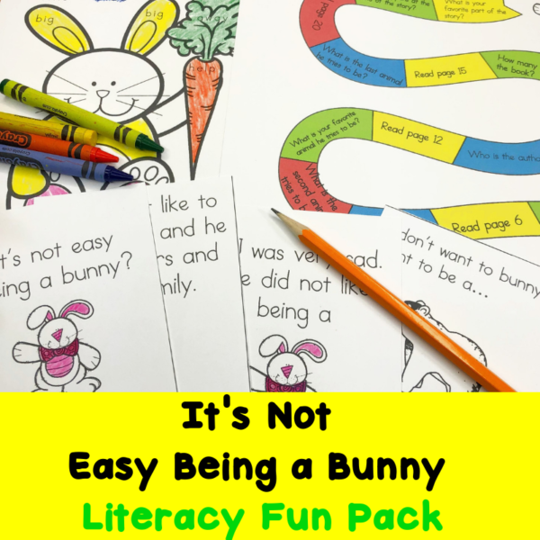 It's Not Easy Being A Bunny - Worksheets, Digital Classroom Activities