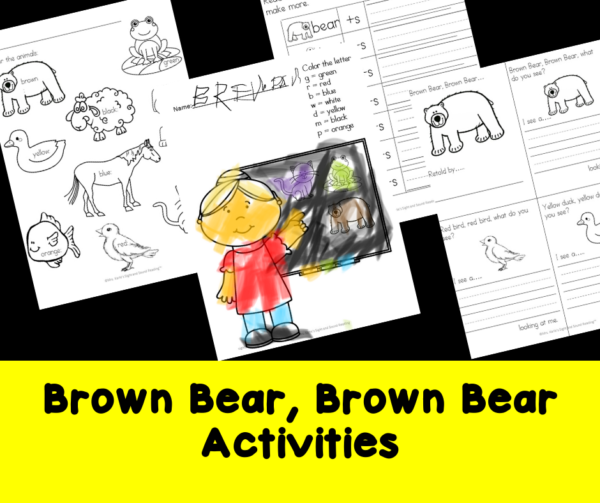 Brown Bear, Brown Bear Activities