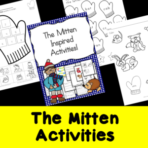 The Mitten Worksheets and Activities