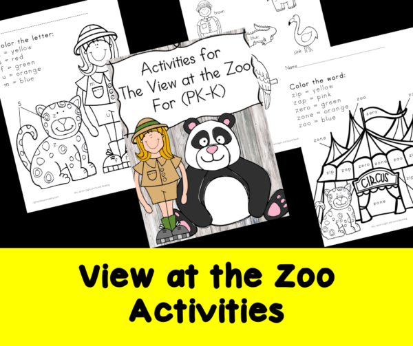 View at the Zoo Activities